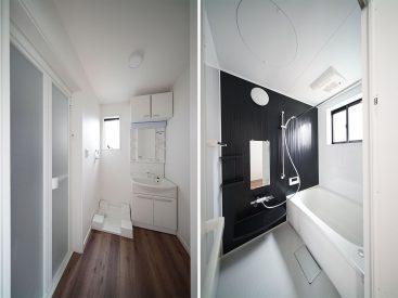 洗面所と浴室