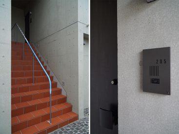 お部屋は2階。