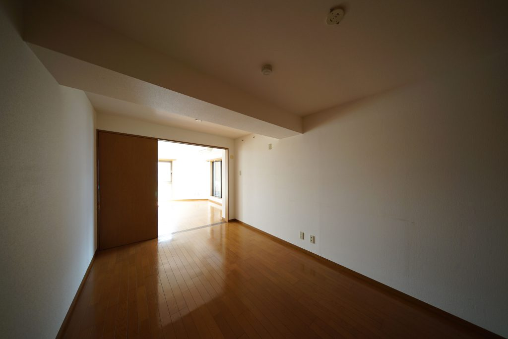 LDKとは正反対の窓なし、静かな空間です