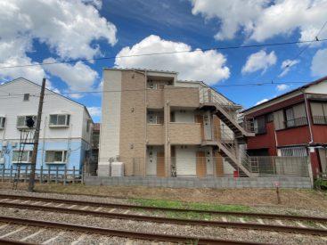 世田谷線沿いの築浅物件です。